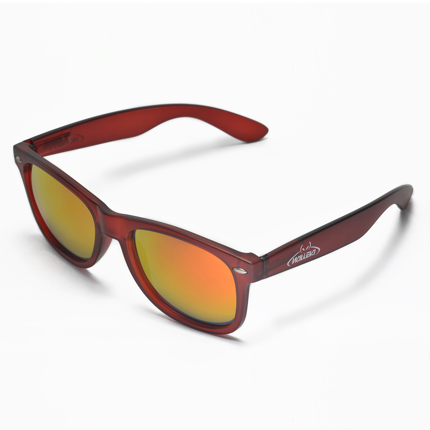 93e8c98ab07 Walleva Kudo WSG108-RD-FR Polarized Sunglasses 639725106706