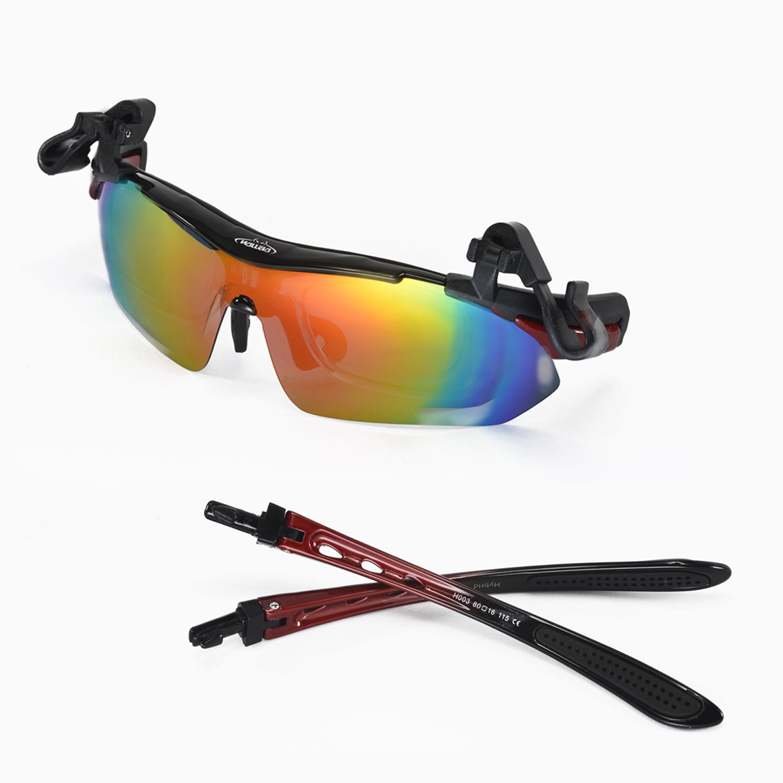 9cdacc759b Walleva Polarized TR90 Sunglasses With Hat Clip And Prescription Lenses  Insert Frame x1  Hat Clip x1  Prescription Lenses Insert Frame x1