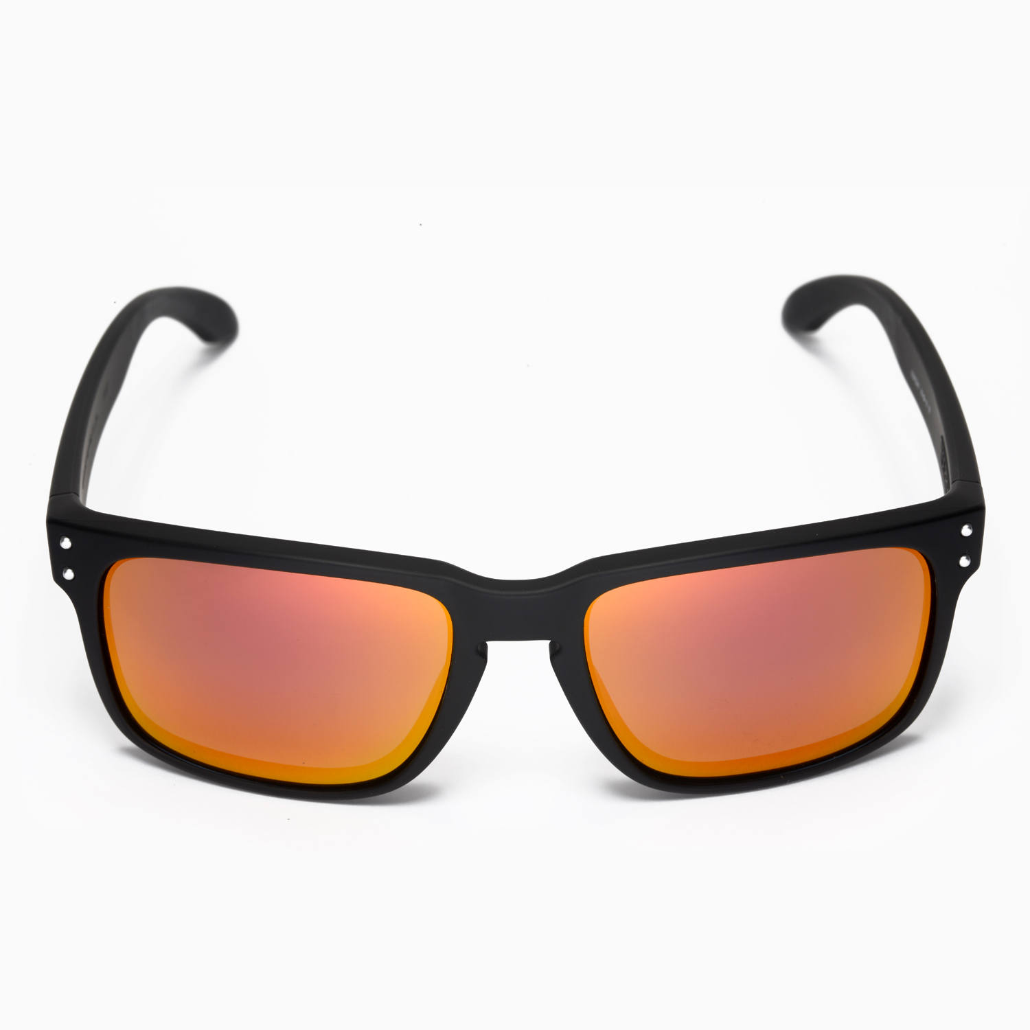 4fd5acf492 New Walleva Fire Red Replacement Lenses For Oakley Holbrook ...