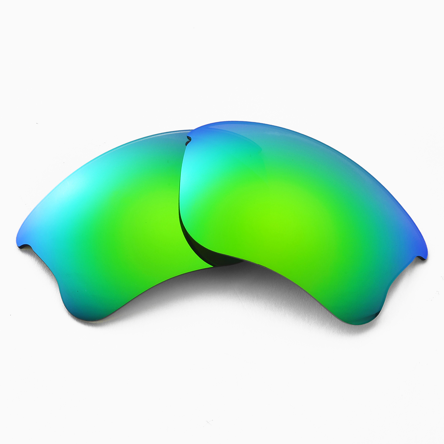Wl Polarized Emerald Replacement Lenses For Oakley Flak