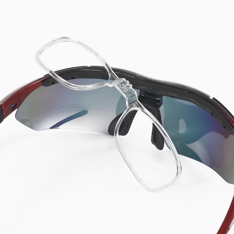de1beda589 Walleva Polarized TR90 Sunglasses With Hat Clip+Prescription Lenses ...