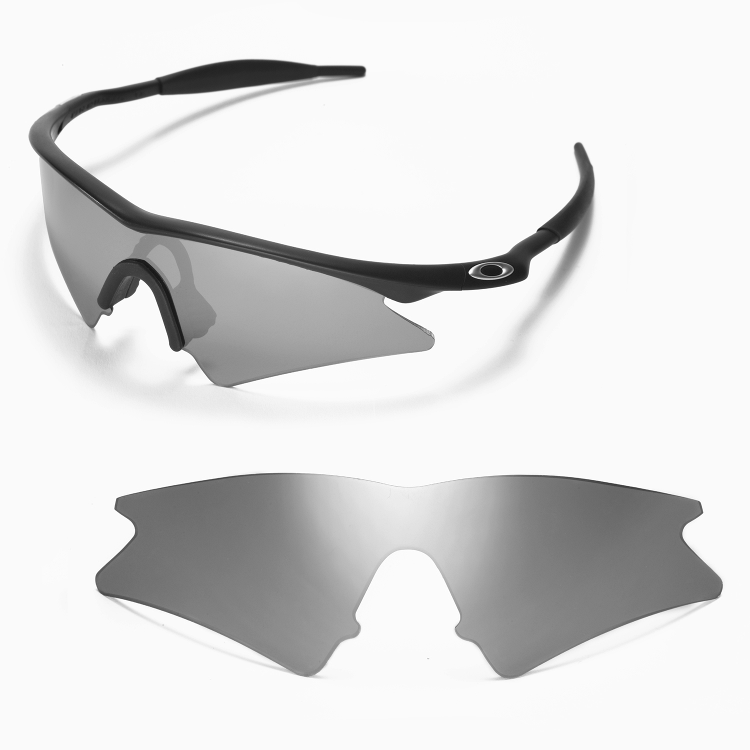 da5d74b0c25 Details about New Walleva Titanium Replacement Lenses For Oakley M Frame  Sweep Sunglasses